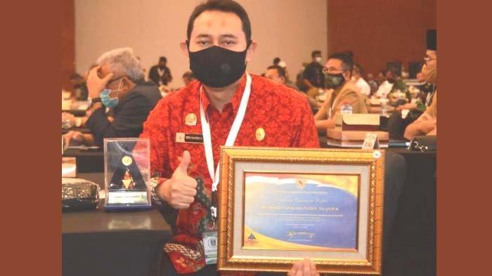 Laporan Keuangan Pemkab Nganjuk Diganjar Penghargaan WTP dari Kementerian Keuangan RI