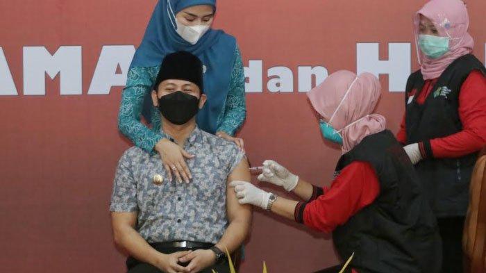 Vaksinasi Tahap Pertama Covid-19 di Trenggalek Rampung, Capaian 67 Persen dari Target 2.400 Sasaran