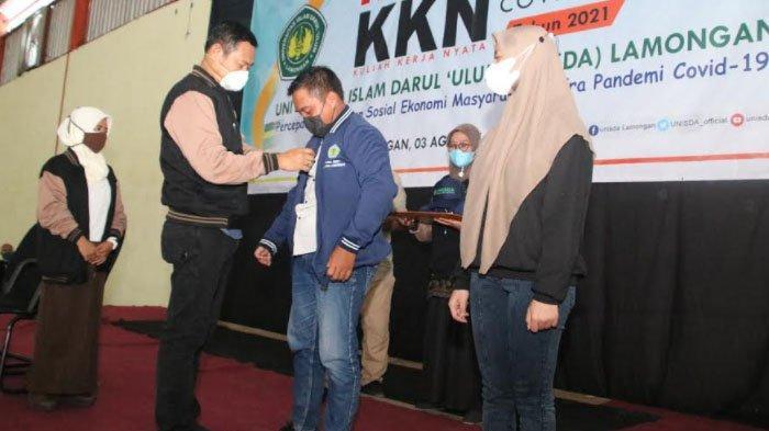Lepas KKN Universitas Islam Darul Ulum, Bupati Lamongan Ajak Mahasiswa Jadi Agen Perubahan