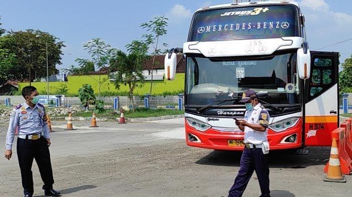 Mulai 6-17 Mei 2021, Bus AKDP di Terminal Patria Kota Blitar Dilarang Beroperasi