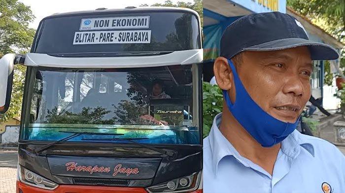 Keluh Kesah Awak Bus di Kediri Soal Larangan Mudik, 20 Titik Jalan Antar Daerah di Jatim Disekat
