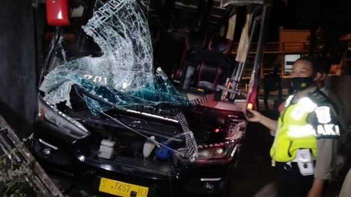 Kronologi Bus Berpenumpang 36 Siswa Lamongan Kecelakaan Tabrak Truk di Jalur Pantura Tuban