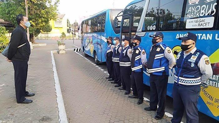 PTM Terbatas Dimulai, Pemkot Kediri Kembali Operasikan Bus Sekolah, Antar Jemput Siswa Gratis
