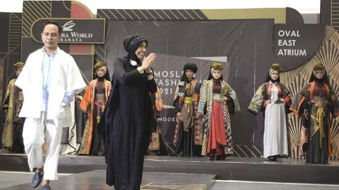 Pesona Indonesia dalam Koleksi Busana Timur Tengah Karya Dua Desainer Bersaudara