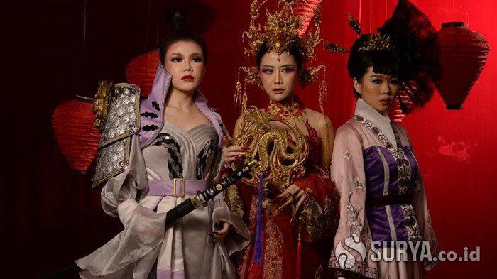 Keindahan Busana Ala Princess Mulan dalam Rancangan Natalia Soetjipto Sambut Tahun Baru Imlek