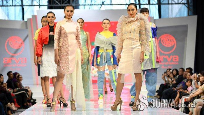 Koleksi Fashion Spring Summer 2020 Arva School of Fashion, Terang dan Bercahaya