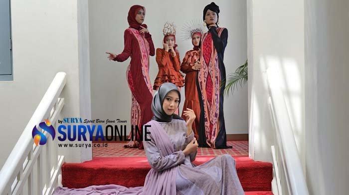 Galeri Foto Busana Mafassa Colection feat. Sarung Mangga yang Diperagakan oleh SZ Model Management