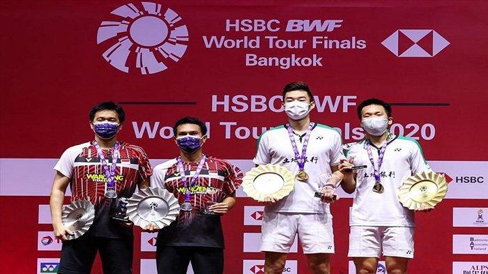 Hasil dan Daftar Juara Badminton BWF World Tour Finals 2020: The Daddies Gagal Pertahankan Gelar