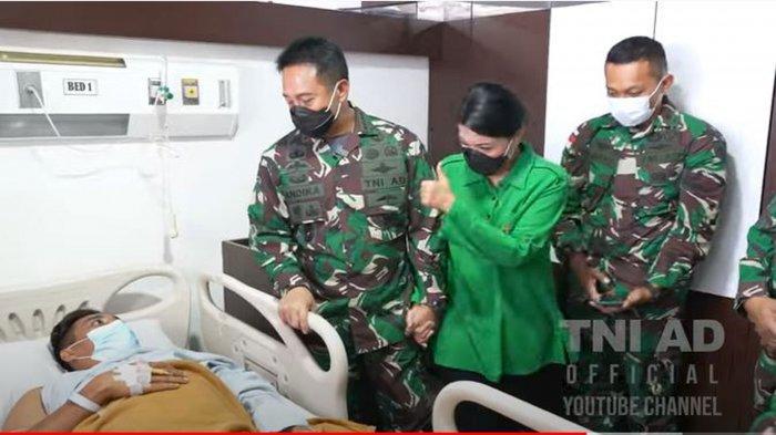 Calon Kuat Panglima TNI Jenderal Andika Perkasa Mau Biayai Orangtua Prajurit TNI AD ke Jakarta