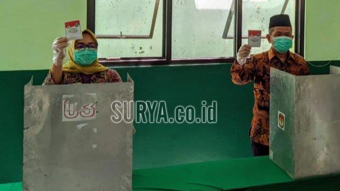 Cawabup Ponorogo Bambang Tri Wahono Yakin Menang Lebih dari 90 Persen di TPS Ini