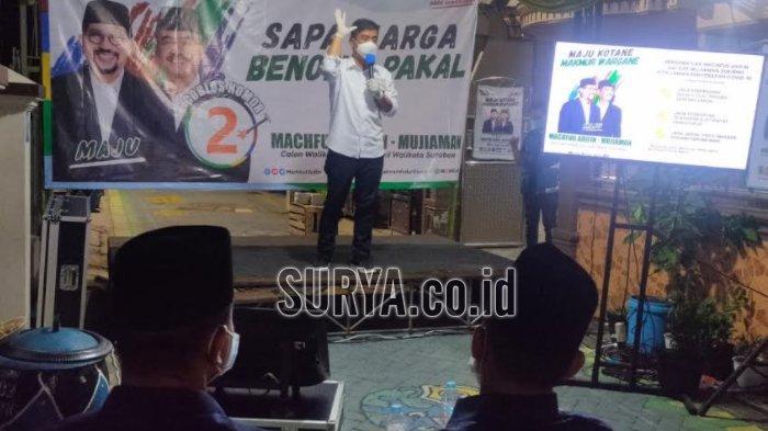 Pilwali Surabaya 2020, Machfud Arifin-Mujiaman Siapkan Program Pandemi Rp 1 Juta per KK