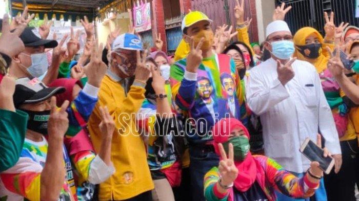 Jelang Coblosan, Paslon Machfud Arifin-Mujiaman Intensif Dekati Warga Kota Surabaya