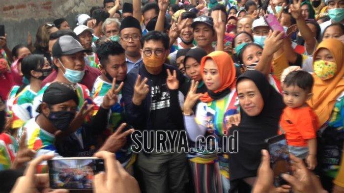 Hari Ini Paslon Machfud Arifin-Mujiaman Kembali Sapa Warga Kota Surabaya
