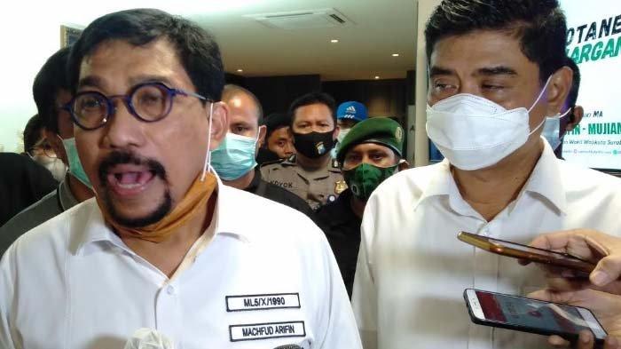 UPDATE Hasil Pilkada Surabaya: Reaksi Machfud Arifin atas Hasil Hitung Cepat Sejumlah Lembaga Survei