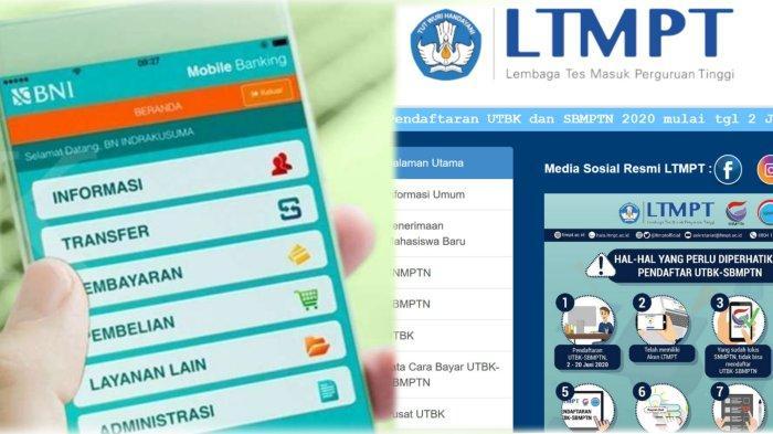Cara Bayar Utbk Sbmptn 2020 Via Bank Mandiri Bni Btn Dan M Banking Pembayaran Diutamakan Online Halaman All Surya