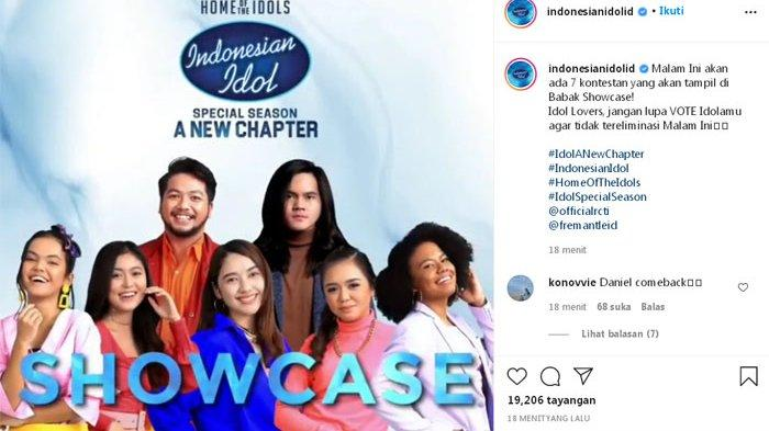 Foto Ilustrasi Cara Gratis Vote (Voting) Indonesian Idol 2021 Babak Showcase via WhatsApp (WA)Malam Ini.