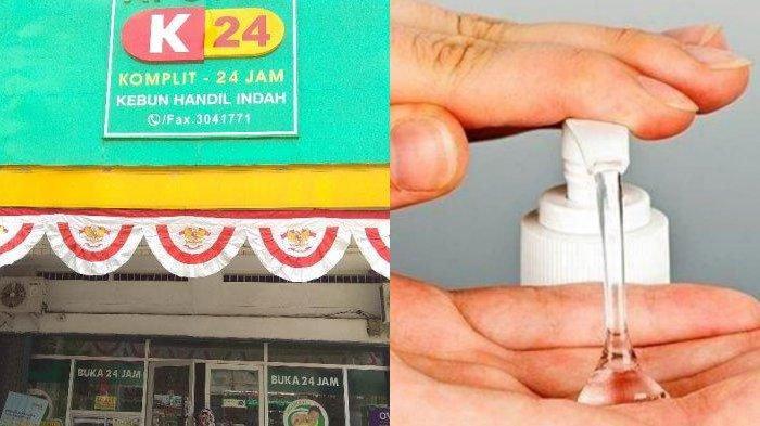 Cara Membeli Hand Sanitizer via Online di K24 dan Daftar Alamat Kimia Farma di Surabaya