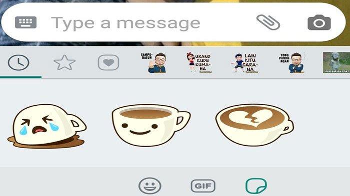 Cara Mendapatkan Stiker Whatsapp (WA) Spesial Tahun Baru 2020, Langsung Kirim ke Teman atau Keluarga