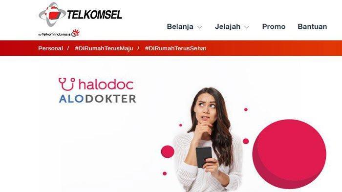 Cara Mengaktifkan Kuota Internet Gratis Telkomsel untuk Konsultasi Covid-19 di Alodokter & Halodoc
