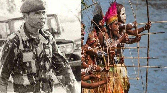 Cara Unik Prajurit Kopassus Selamat dari Kepungan Suku Pedalaman Papua, Terpaksa Makan Daging Mentah