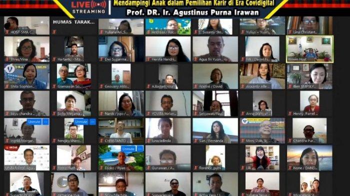 Career Day dan Seminar Parenting: Mendampingi Anak dalam Pemilihan Karir di Era Covid Digital