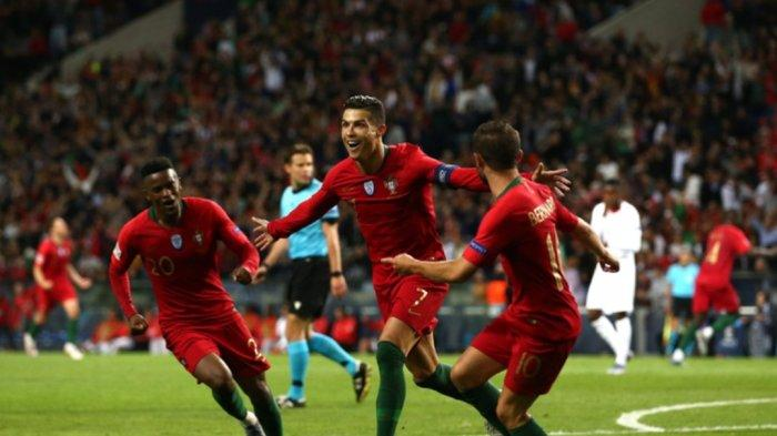Catatan 88 Gol Cristiano Ronaldo yang Sukses Antar Timnas Portugal Lolos Piala UEFA Nations League
