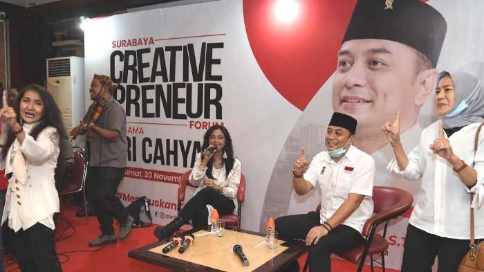 Janji Eri Cahyadi terhadap Seniman Surabaya yang Total Mendukungnya di Pilwali Surabaya 2020
