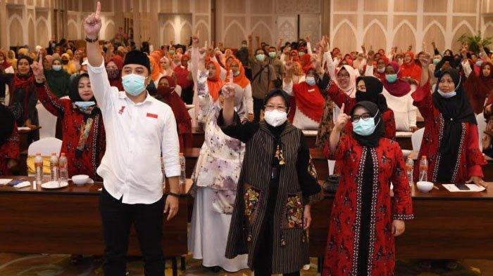 Risma kian Intens Kampanyekan Eri Cahyadi jelang Akhir Masa Kampanye Pilkada Surabaya 2020