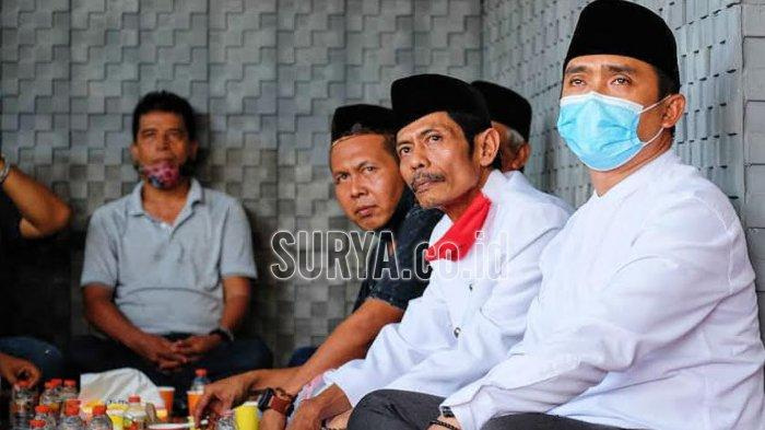 Pilwali Pasuruan 2020, Mantan Ketua DPC PDIP Kota Pasuruan Pranoto Ngopi Bareng Gus Ipul-Mas Adi