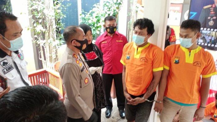 Pasutri Lamongan Edarkan Narkotika, Sabu untuk Konsumen Disembunyikan di Celana Dalam Istrinya