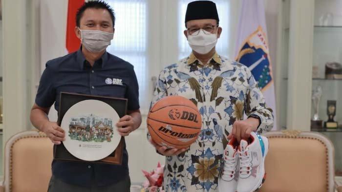 Gubernur Anies Dukung Seri Pembuka Honda DBL di Jakarta,Siap Fasilitasi Vaksinasi Peserta