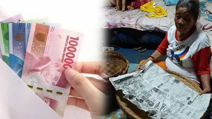 Tangis Mbah Ginem Pecah, 70 Nasi Bungkus dan Uang Rp 400.000 Diambil Perempuan Pura-pura Membeli