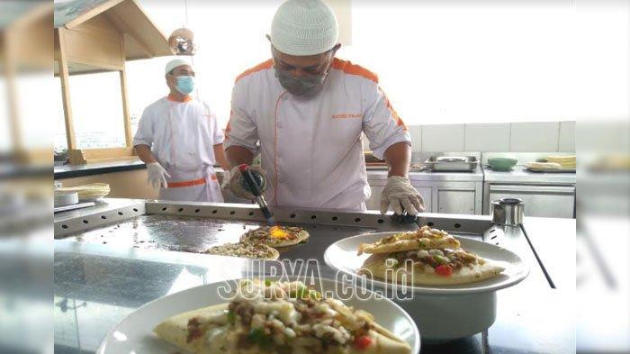 Berbuka dengan Pizza Timur Tengah, Menu Spesial Ramadan di Hotel Harris Gubeng Surabaya
