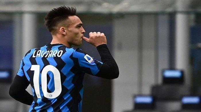Lautaro Martinez baka jadi tulang punggung Inter Milan di Liga Champions musim ini