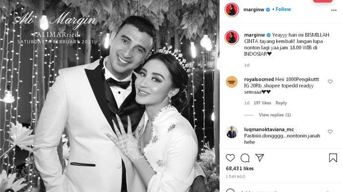 Chord dan Lirik Lagu Bismillah Cinta yang Dibintangi Margin Wieheerm dan Ali Syakieb di Indosiar
