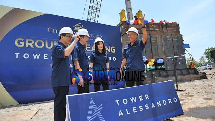Citraland Vittorio Gelar Ground Breaking Tower Alessandro Sambil Launching Sisa Unit