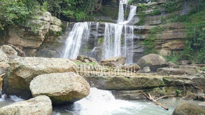 Coban Nirwana di Desa Gedangan, Kecamatan Gedangan, Kabupaten Malang.