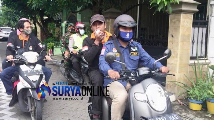 KPU Gelar PSU Pilwali Surabaya 2020 di TPS 46 Kedurus