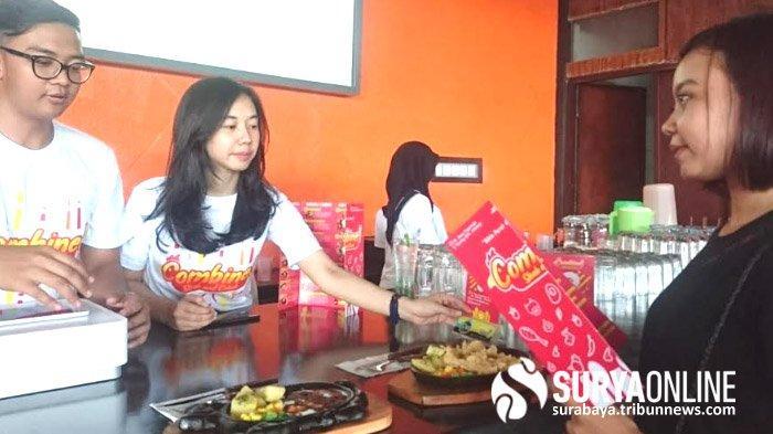 Padukan Kuliner ala Barat dan IndonesiaResto Combine Steak and Cobek Sidoarjo