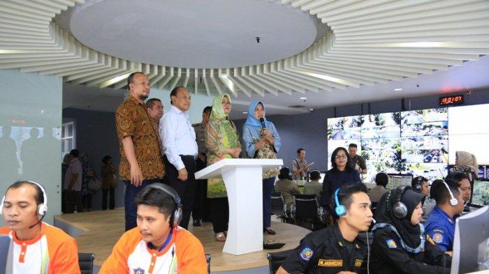 Command Center Surabaya Dapat Pujian dari Kemen PAN-RB