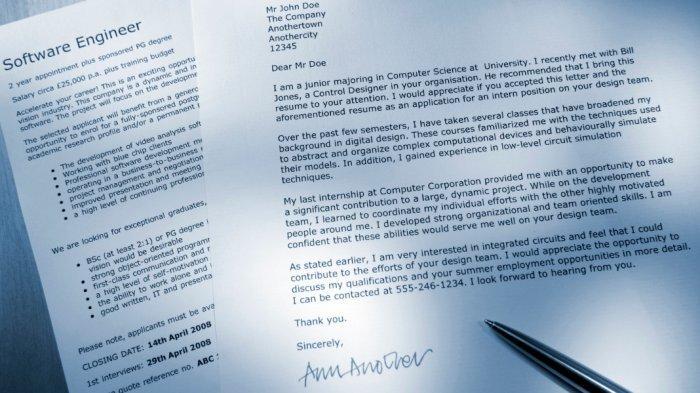 Contoh Surat Lamaran Kerja Profesional Melalui Email Dan Tips Agar Segera Dipanggil Interview Surya Co Id