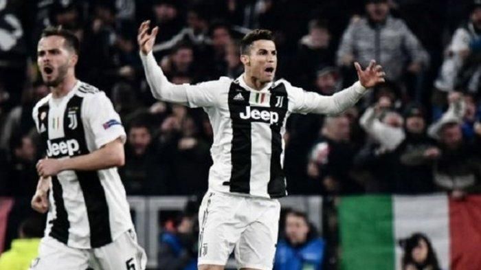 Hasil Liga Champions, Juventus dan Manhcester City Lolos ke Perempat Final