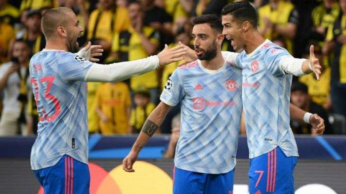 Gol Cristiano Ronaldo tak mampu membawa tiga poin saat Man United bertandang ke markas Young Boys di laga Liga Champions, Rabu (15/9/2021)