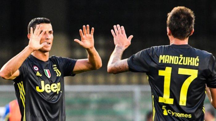 Hasil Liga Italia Pekan Pertama, Penampilan Perdana Ronaldo dan Hasil Buruk Inter Milan