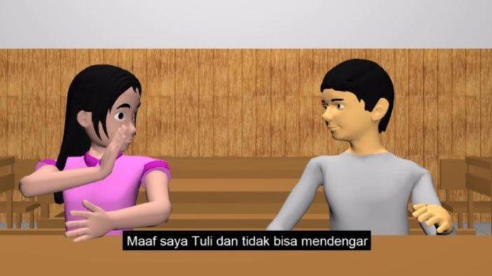 Mahasiswa Difabel Universitas Dinamika Surabaya Bikin Film Pendek Cara Menghargai Tunarungu