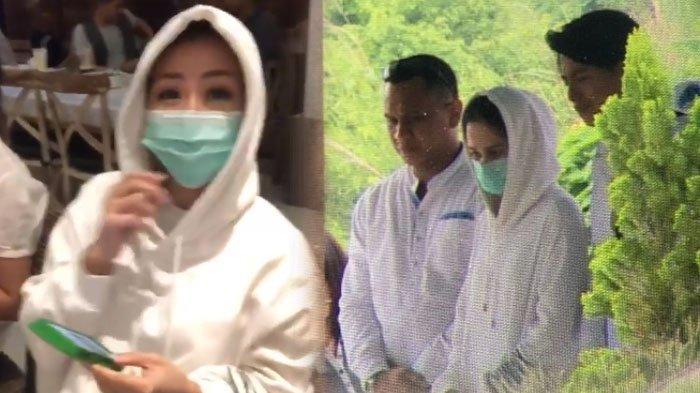 Cut Meyriska Dikabarkan Hadiri Pemakaman Ibu Roger Danuarta, Kok Ada Wanita Serupa?