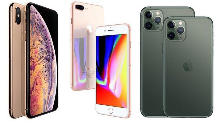 Daftar Harga Hp Iphone Bulan Februari 2020 Paling Favorit Seri 11 Pro Max Di Bawah Rp 15 Juta Surya