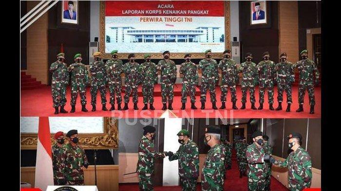 Daftar Kenaikan Pangkat TNI Terbaru, Wakil Jenderal Andika Perkasa Resmi Menyandang Bintang Tiga