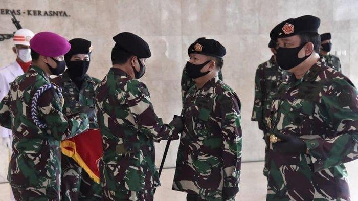 Foto ilustrasi mutasi perwira tinggi TNI. Daftar mutasi TNI terbaru bisa dilihat di artikel ini, ada yang jadi wakil Jenderal Andika Perkasa.
