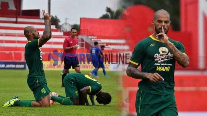 Daftar Pencetak Gol Persebaya hingga Arema FC Takluk 4-2 di Semifinal Piala Gubernur Jatim 2020